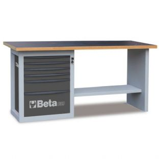 "Beta C59A-G ""Endurance"" With 1 Cab & Six Drawers (Gray)"